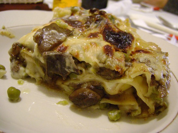 Ricetta Delle Lasagne Bianche Con Funghi Cardoncelli E Salsiccia